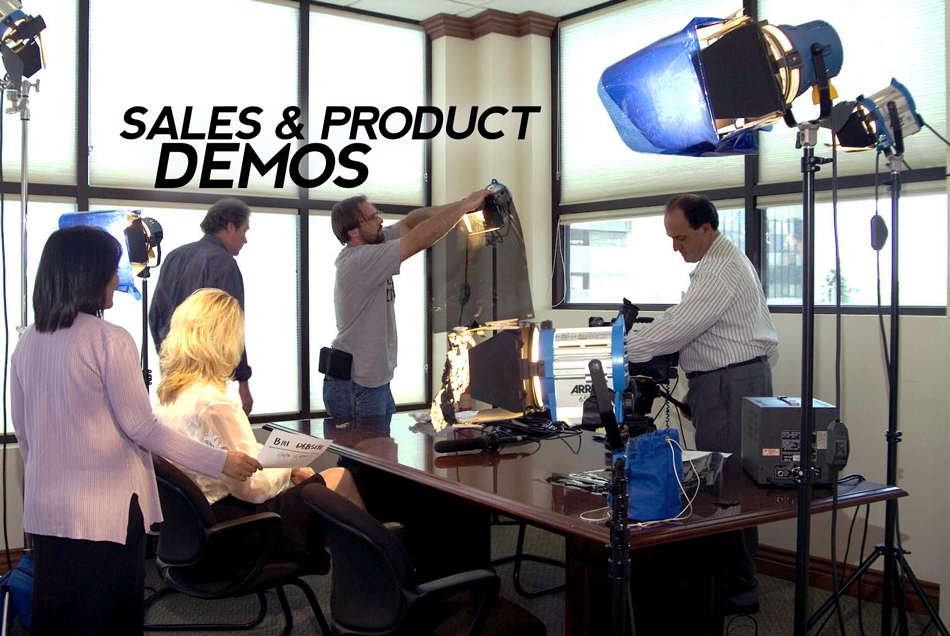 Sales & Product Demos